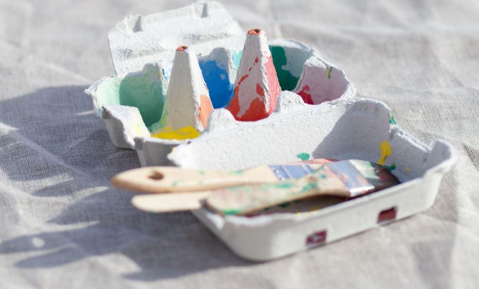 piezas sueltas caja de carton
