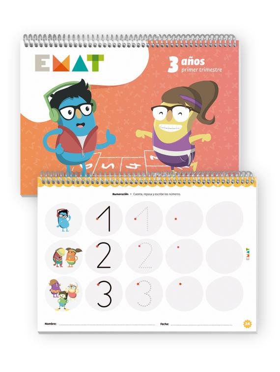 fichas para matematicas en infantil