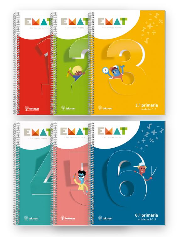 Cuadernos de primaria emat