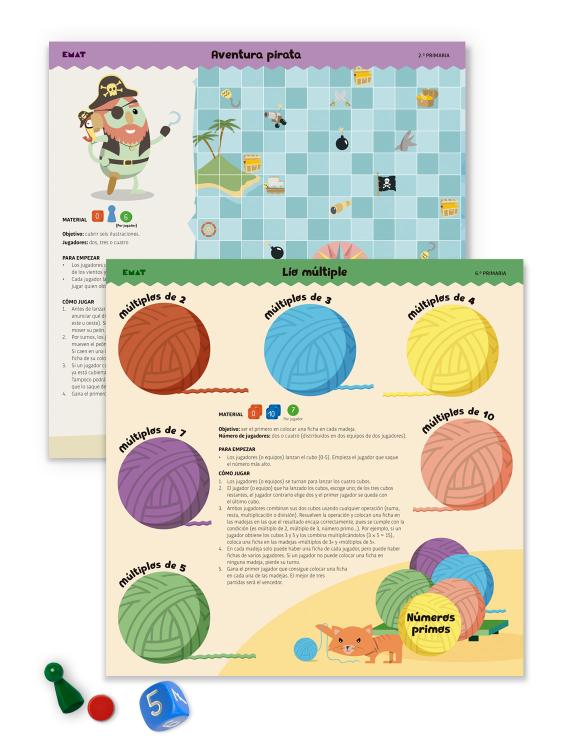 juegos de matemáticas para el aula infantil