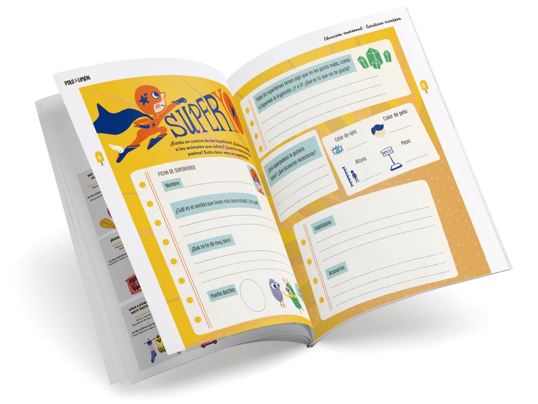 Polo de limon cuadernos de actividades para el verano