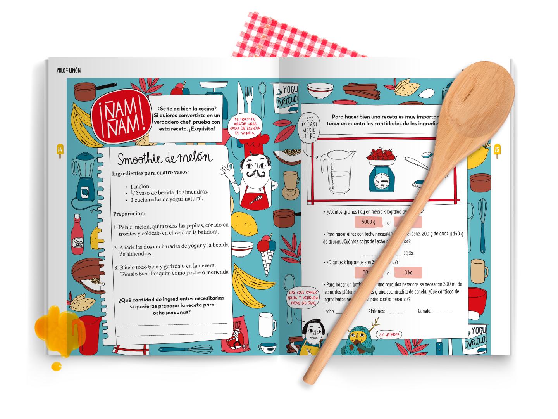 actividades para niños recetas de cocina