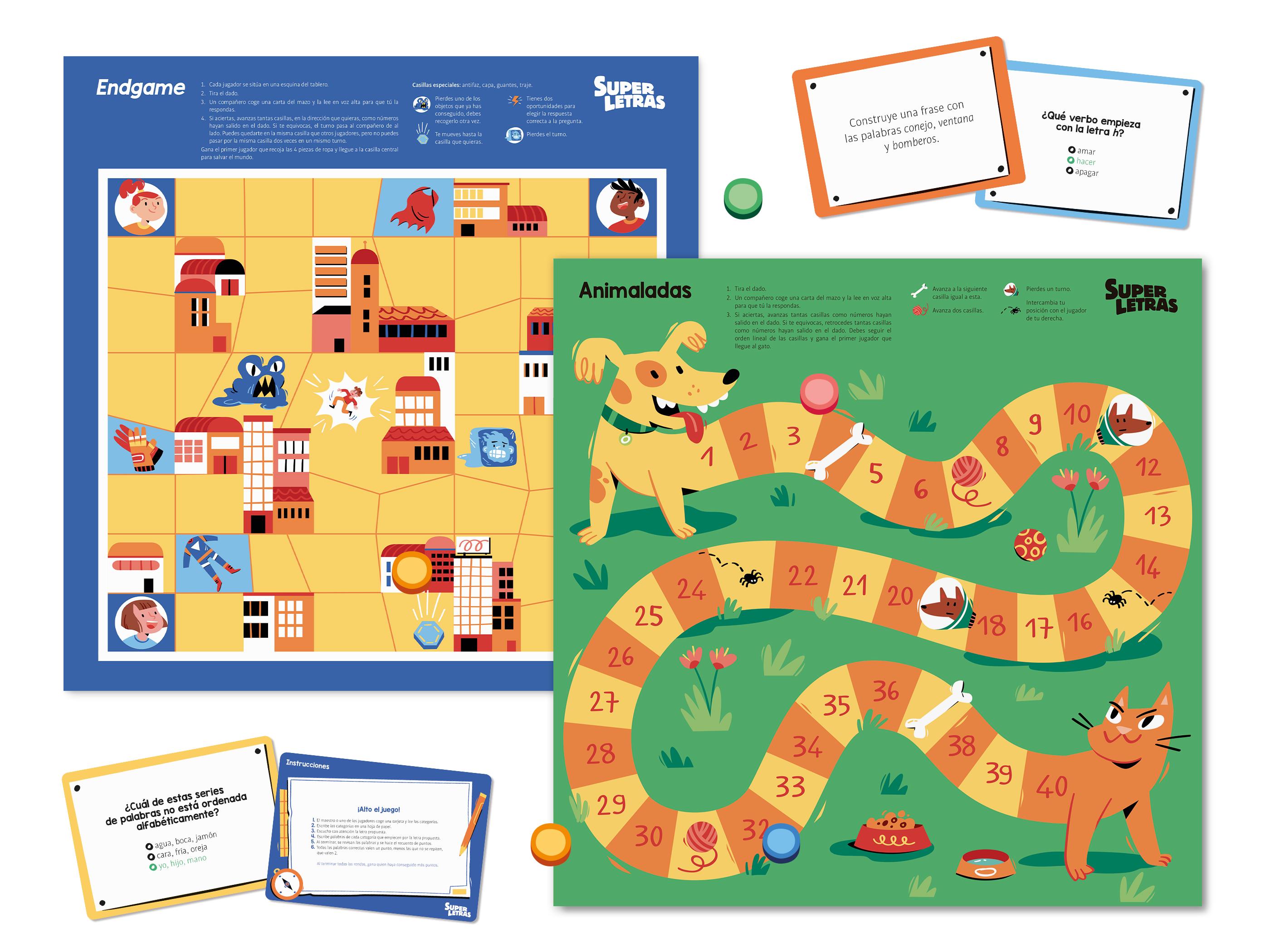 habilidades lingüísticas trabajadas a partir del juego