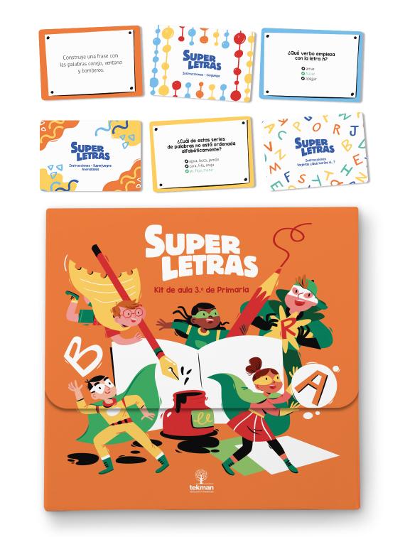 kit de aula superletras